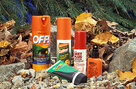Insect repellents made from DEET