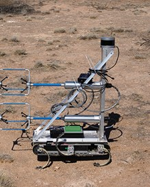 The Robot Hexapod (RHEX) with several different sensor attachments